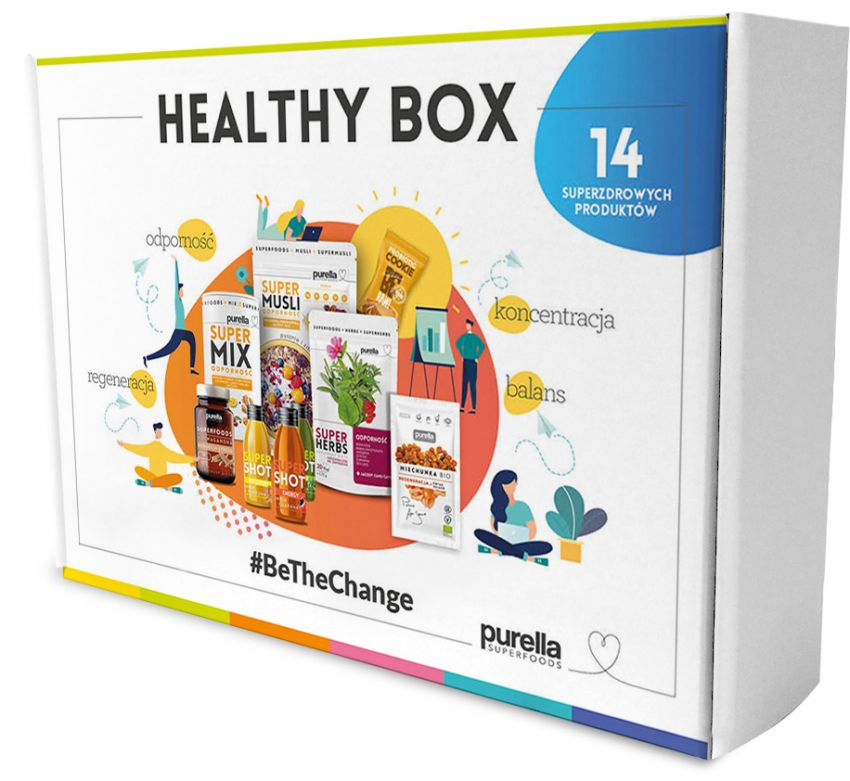 Healthy Box od Purella Superfoods