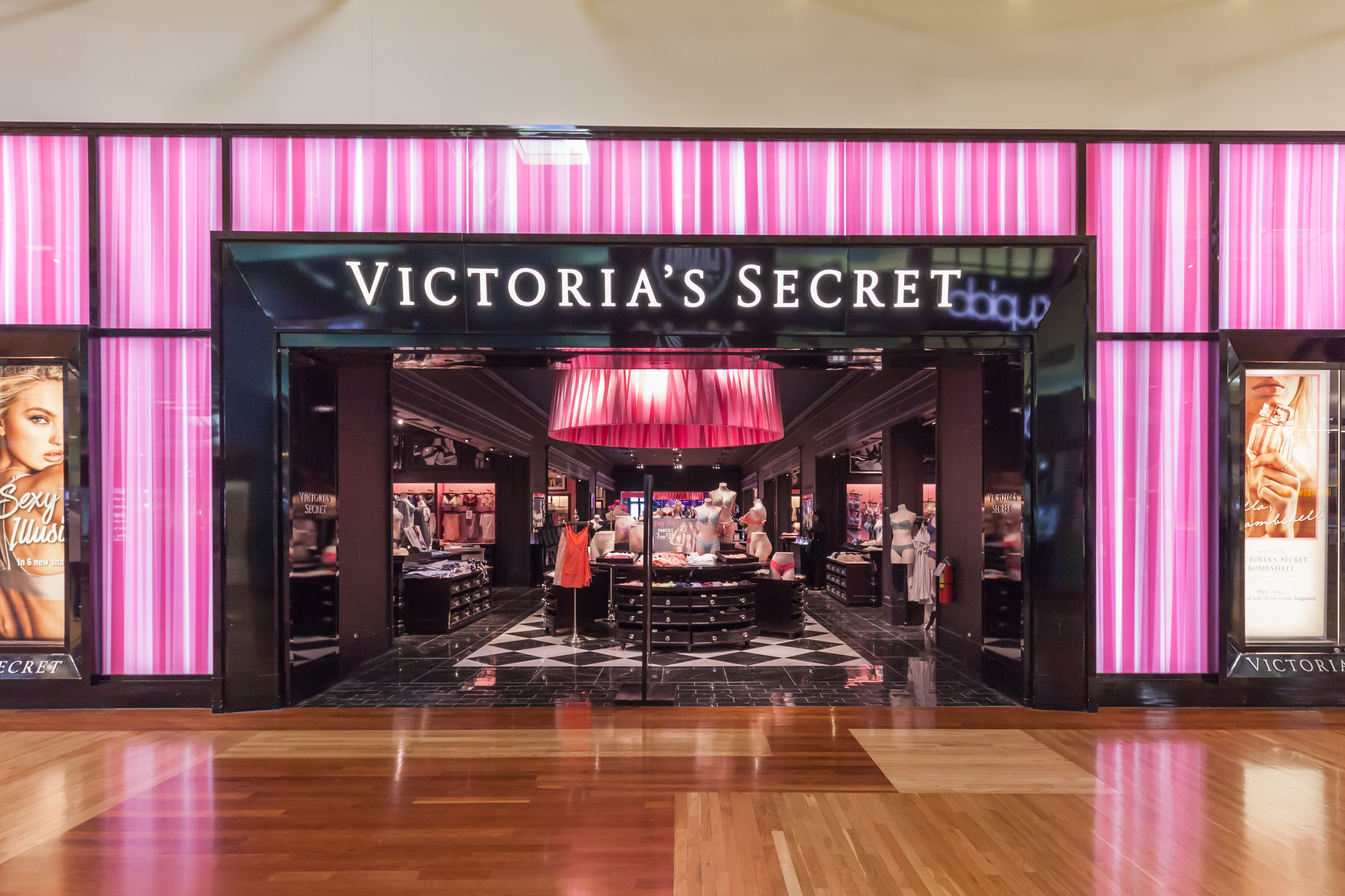 Na zdj. salon sieci Victoria's Secret